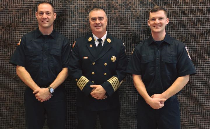 Hanson Firefighters Graduate from the MA Fire Academy