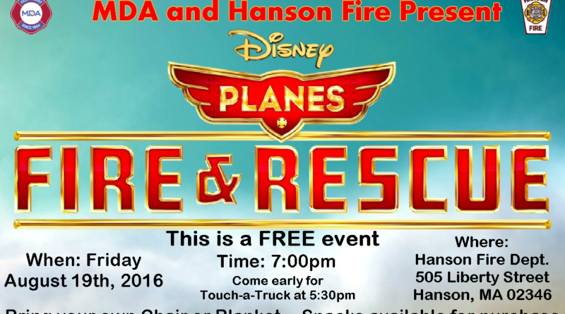 FREE Family Movie Night: Planes – Fire and Rescue